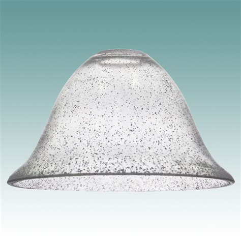 Tiffany Style Lamp Shades by 7846 Clear Seeded Glass Bell Shade Glass Lampshades