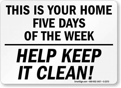 Office Sign Clean Keep Signs Funny Housekeeping