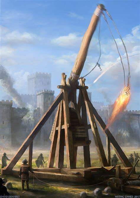 cook siege trebuchet by moonxels on deviantart