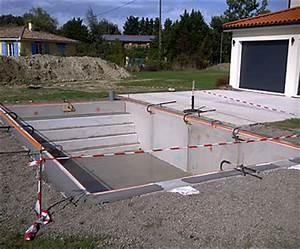 comment faire construire une piscine With construire une piscine en beton soi meme