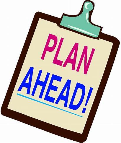 Ahead Plan Clipart Planning College Business Exit