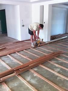 plywood subfloor over concrete floor installing engineered With installing a wood floor over concrete