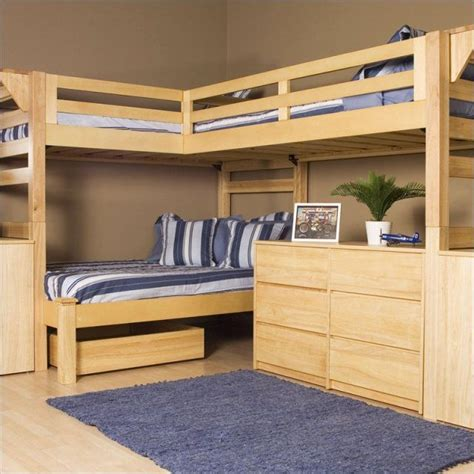 queen  king bunk bed     diy full
