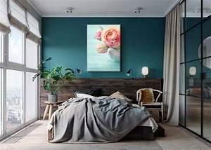 Déco Chambre Bleu Canard : d coration murale bleu canard blog izoa ~ Melissatoandfro.com Idées de Décoration