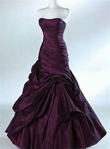 beautiful dark purple dress wedding day looks pinterest With dark purple dresses for weddings