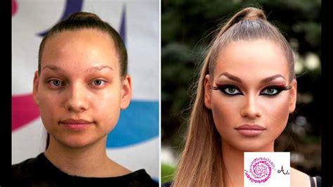 Le pouvoir du maquillage 16 photos avant et après.