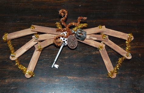 How To Make Steampunk Doll Wings With Old Ice Pop Sticks