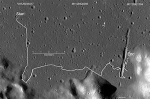 LROC Traces Tracks of Lunokhod 2 Rover | Solar System ...