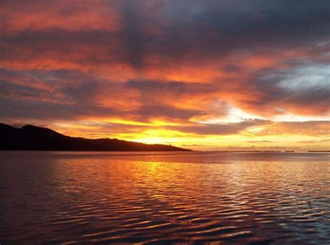 franzoesisch polynesien sonnenuntergang sonnenaufgang