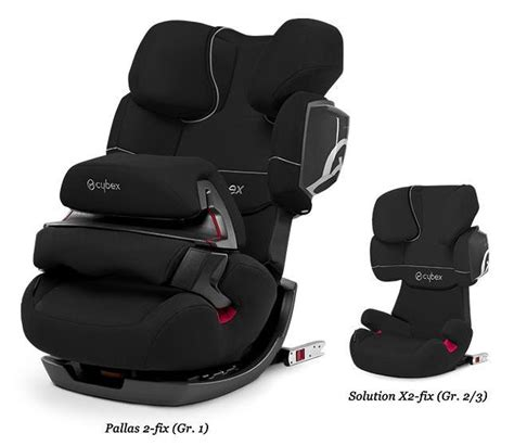 siege auto pallas cybex siège auto groupe 1 2 3 pallas 2 fix black