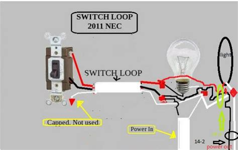 Both A Power Switch And Schematic Wiring by 2 Lights And A Switch Power To The Lights And Out Again