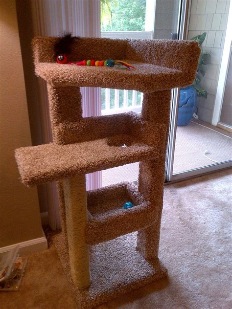 diy kitty scratching post bed build diy pets animals woodworking projectsjpgsizex