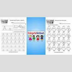 Kindergarten Worksheets  Free Printable Worksheets For Kindergarten Teachers And Parents