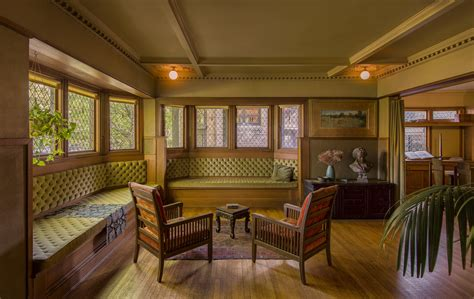 arts and crafts home interiors frank lloyd wright furniture designer curbed