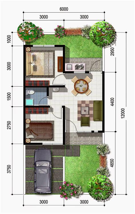 denah rumah minimalis  expo desain rumah