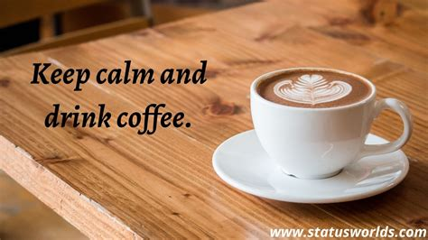 Get the best, clever captions, and most beautiful quotes about coffee.may your coffee be. Hot And Cold Coffee Status, Quotes & Captions  2020  For A Coffee Lover - Status World