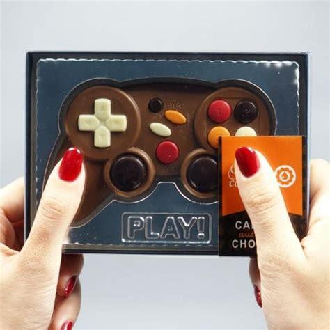 jeux de cuisine de chocolat manette de jeu en chocolat cadeau maestro