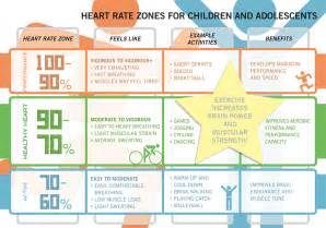 Exercise Heart Rate Zone Chart