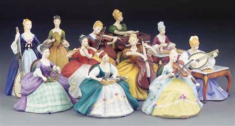 A Set Of Royal Doulton Lady Musicians Figures