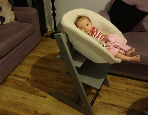 chaise stokke occasion review stokke grey tripp trapp chair newborn set