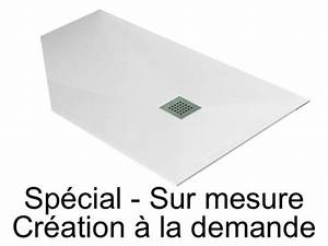 Bac A Douche Sur Mesure : bac de douche sur mesure bac douche sur mesure slate ~ Dailycaller-alerts.com Idées de Décoration