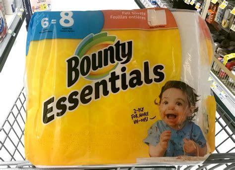 bounty essentials  basic paper towel