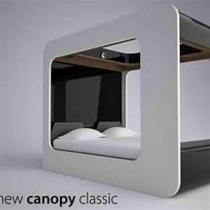 Lit Du Futur : le lit baldaquin du futur d co maison ~ Melissatoandfro.com Idées de Décoration