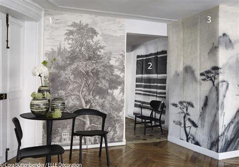 Tapisserie ée Noir Et Blanc by Papier Peint Panoramique Les Paysages Investissent Nos