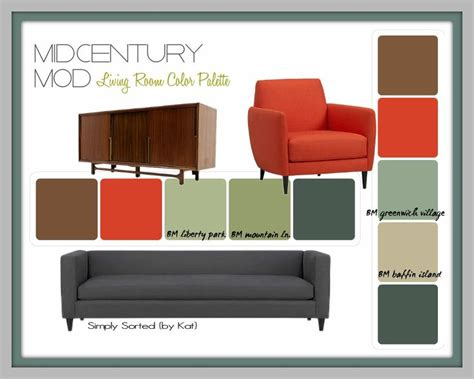mid century color schemes mid century modern paint schemes mid century modern living room color palette simply sorted kat