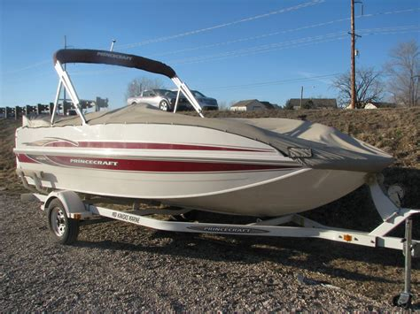 Princecraft Deck Boat 194 by Used 2007 Princecraft Ventura 190 For Sale In Andover