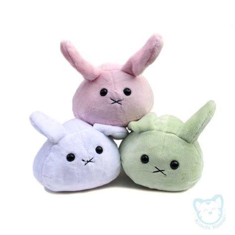 cute handmade plush kawaii mochi buns bunnies  storenvy