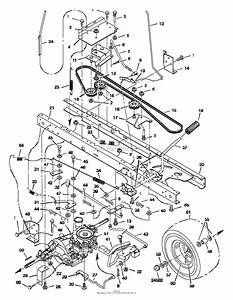 Simplicity Lawn Tractor Parts Diagrams