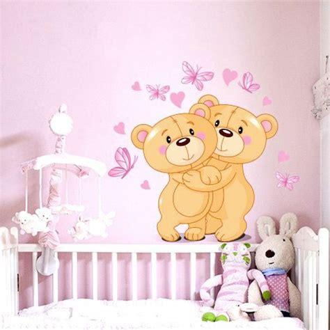 chambre b2b2 stickers ourson chambre bébé livraison en 48h