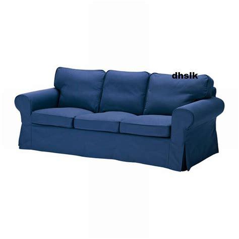 housse canapé ektorp ikea ikea ektorp 3 seat sofa cover slipcover idemo blue bezug
