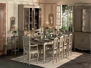 french country dining room tables with rustic design With rustic country dining room ideas