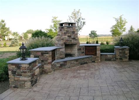 17 best images about outdoor fireplace ideas on