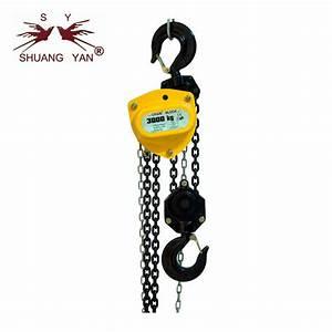 New Chain Hoist    3000kg Manual Lifting Hoist High Cost