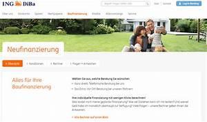 Baukredit Mit Sondertilgung : ing diba baufinanzierung test der gro e testbericht 2018 ~ Michelbontemps.com Haus und Dekorationen