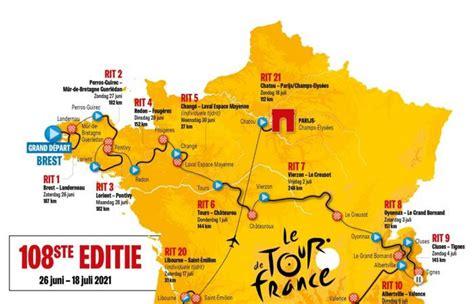 Emissions spéciales tour de france sur tv5monde. Tour De France 2021 Route