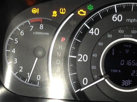 Malfunction Indicator L Honda Crv by 2014 Honda Cr V Spurious Warning Lights 1 Complaints