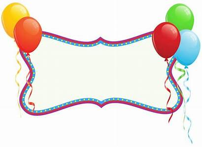 Banner Birthday Clipart Banners Holiday