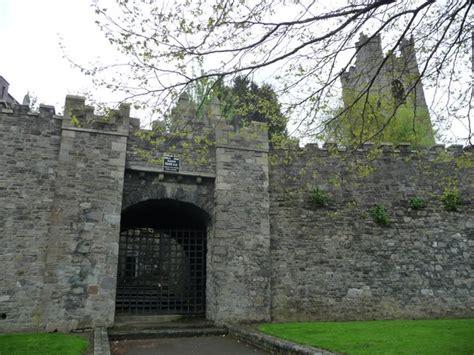 medieval wall  dublin photo
