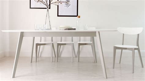 extendable glass dining room table top modern grey and white extending dining table 8 seater