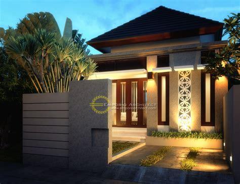 desain rumah minimalis nuansa bali rumah minimalis