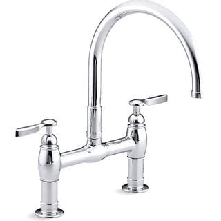 best price on kitchen faucets bridge kitchen faucets overstock com the best prices