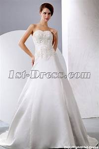 simple ivory chiffon long second wedding dress for With simple second wedding dresses