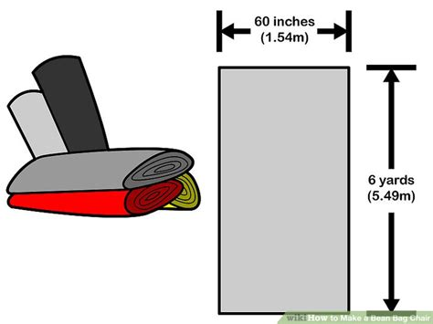 how to make a bean bag chair cover how to make a bean bag chair 13 steps with pictures
