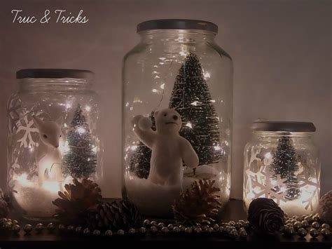 deco de noel d 233 co de no 235 l diy no 235 l en bocal truc tricks