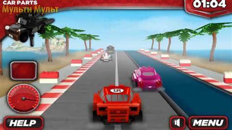 Games Lego Cars 2 Lightning Mcqueen Игра тачки Youtube