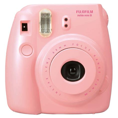 fujifilm pink instax mini  camera  film alexandalexa
